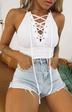 ladies fashion V-neck binding bottoming shirt top vest NSYF2830