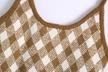 autumn diamond lattice knitted sling top NSAM3151