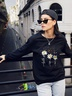 new autumn and winter women's round neck long sleeve street casual sweater NSSN4039
