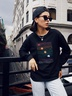 new autumn and winter women's round neck long sleeve street casual sweater NSSN4044