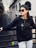new autumn and winter women's round neck long sleeve street casual NSSN4053
