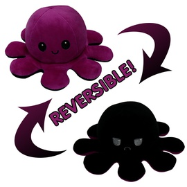 Hot Sale Flipped Octopus Dolls Double-sided Expression Flipped Octopus Vibrato Small Octopus Toys NSNO4327