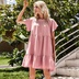 solid color loose holiday casual dress NSAL2129