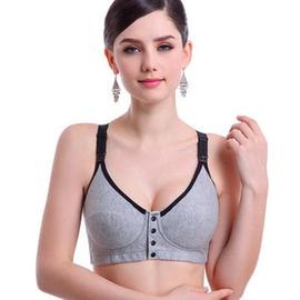 Bra Without Steel Ring Pure Cotton Anti-sagging Women Underwear NSXY8556