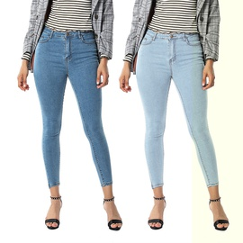 Women's Stretch Wash Slim Fit Jeans  NSSY9147