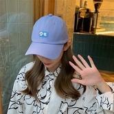 Daisy Baseball Wild Letter Embroidery Cap NSCM10109