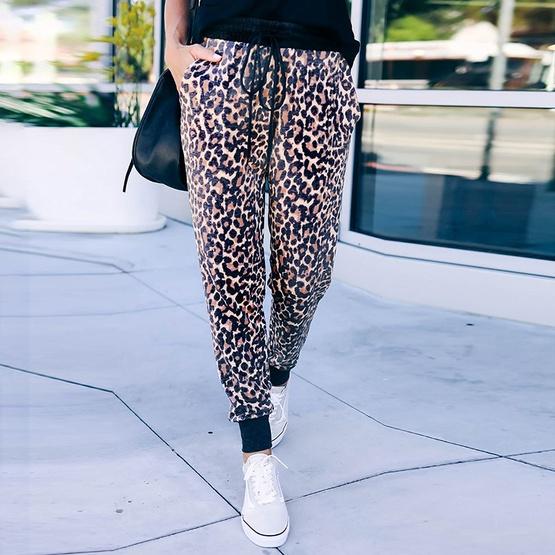 Pantalones sueltos con cintura atada nuevos de otoño para ...