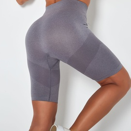 Hip Lifting High Waist Sweat-absorbent Running Shorts NSLX13164
