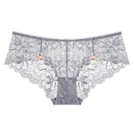 Sexy Lace Translucent Low Waist Briefs NSXQ14494