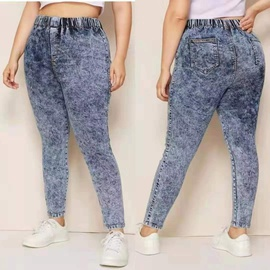 Extra Large Fashion Denim Pants  NSCX19023