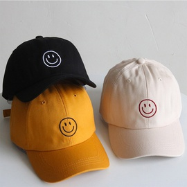 Embroidered Smiley Baseball Cap  NSTQ21406