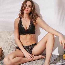 Sexy Lace Ultra-thin Bra Set  NSSM21508