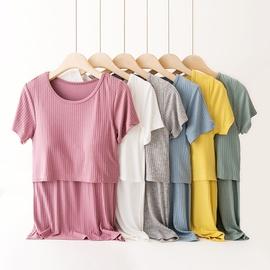 Short-sleeved Modal Nursing Clothing  NSXY22117