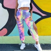 Tie-dye Casual Sports Pants NSZH22143