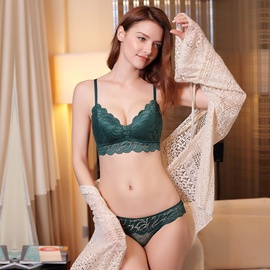 Lace Sexy Gathering Underwear Set NSWM22569