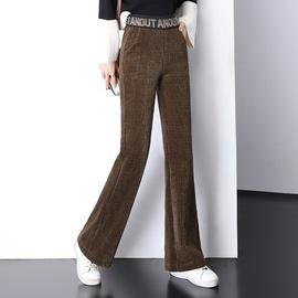 Autumn And Winter Plus Velvet Chenille Trousers  NSYZ23022