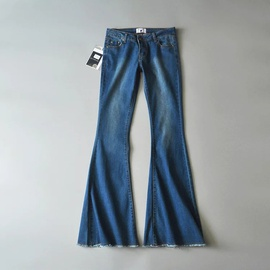 Retro Stretch Flared Jeans NSHS23390