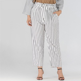Cool Striped Large Size Casual Pants  NSJR17176