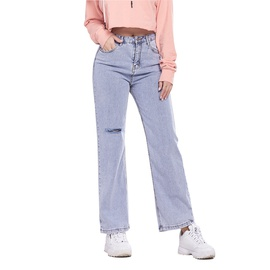 Casual Wide-leg Denim Pants NSSY17681