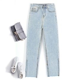 Fashion Straight Denim Pants NSSY17686