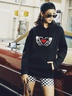 women hot autumn and winter hooded women's sweaters  NSSN364