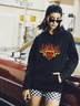 women hot autumn and winter hooded women's sweaters  NSSN374