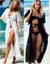Women's Lace Fight Chiffon Cardigan Beach Blouse Sunscreen Clothing NSYF1095