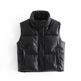 Spring Leather Cotton Jacket Vest   NSAM27520