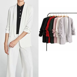 Casual Fashion Simple Small Suit Jacket  NSLD27543