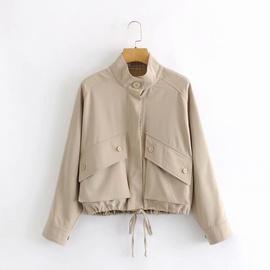 Loose Casual Fashion Short Tooling Jacket  NSAM27832
