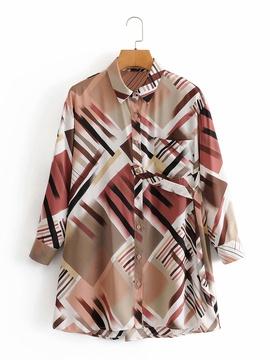 Color Matching Pocket Shirt NSAM27857