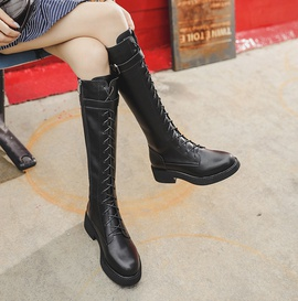 Autumn And Winter High-tube Knight Boots   NSCA28077