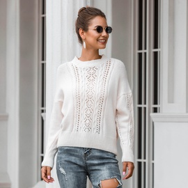 Fashion Hollow Knitted Sweater NSMY28160