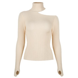 Fashion Casual High-neck Long-sleeved Sweater NSMY28161