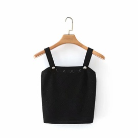 Casual Simple Small Vest   NSLD28345