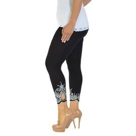 Slim Printed Cropped Leggings NSZH28609