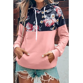 Autumn And Winter New Loose Drawstring Hooded Fashion Printed Sweatshirt NSZH28773