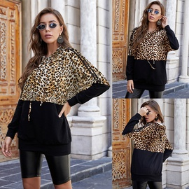 Fashion Loose Autumn And Winter New Style Sexy Long-sleeved Hooded Sweatshirt NSLM28965