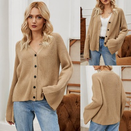 Flared Sleeve Knit Cardigan NSLM29019