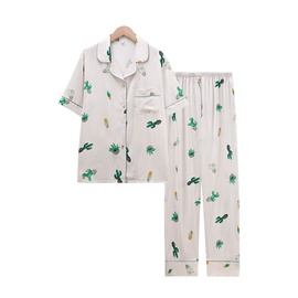 Spring And Summer Short-sleeved Trousers Home Suit NSJO29506