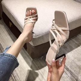 Spring And Summer Fashion High Heel Sandals NSHU29716