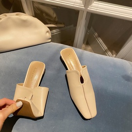 Spring And Summer Lazy Muller Shoes   NSHU29728