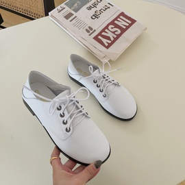 Fashion Casual Small Leather Shoes  NSHU29735