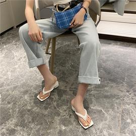 Mid-heel Clip Fashionable Flip Flops NSHU29749