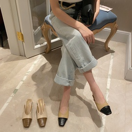 Spring And Summer Low-heeled Sandals  NSHU29748