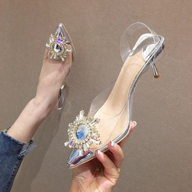 Spring And Summer Fashion Pointed Stiletto  NSHU29752