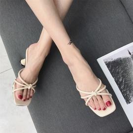 Fashion Thin Strap High Heels Sandals NSHU29759