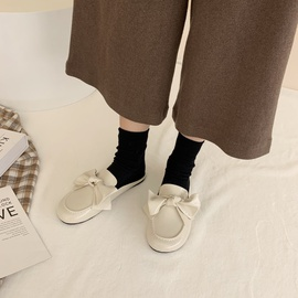 Fashion Half Flat Bow Sandal  NSHU29763
