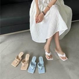 Fashion Flip-flops Stiletto Heel Sandals  NSHU29765
