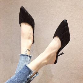 Spring And Summer Fashion High Heels Slippers NSHU29772